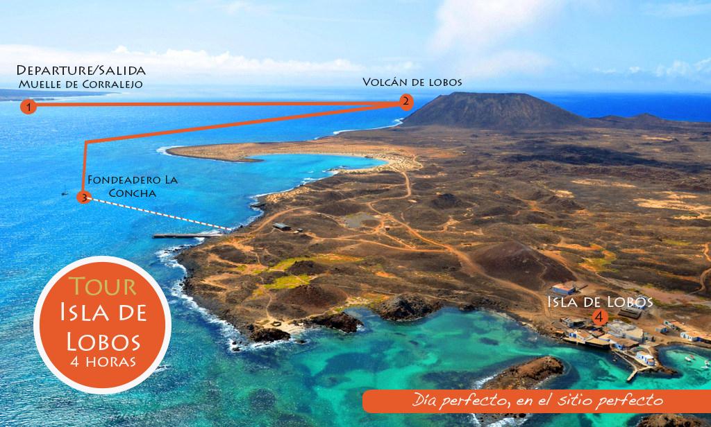 Isla De Lobos Mapa.Isla De Lobos Surfboat Fuerteventura Excursiones En
